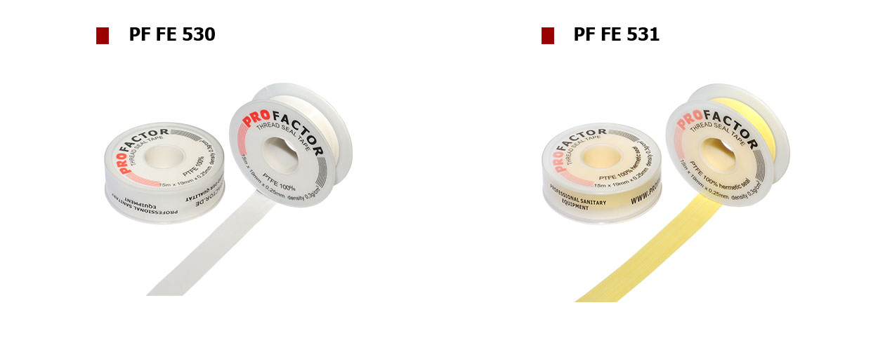 Fluorkunststoff-Dichtungsband-(PTFE)-PROFACTOR